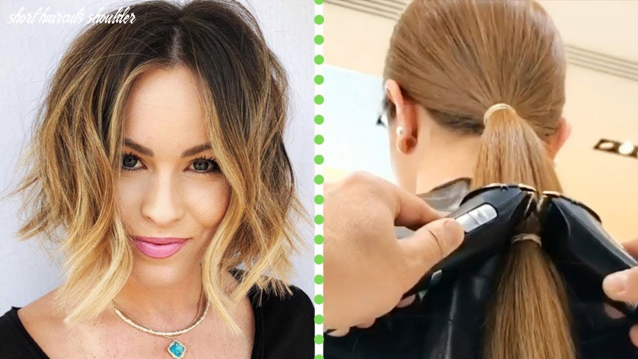 Medium short haircuts | shoulder length hairstyles | amazing hair transformations by professionals short haircuts shoulder