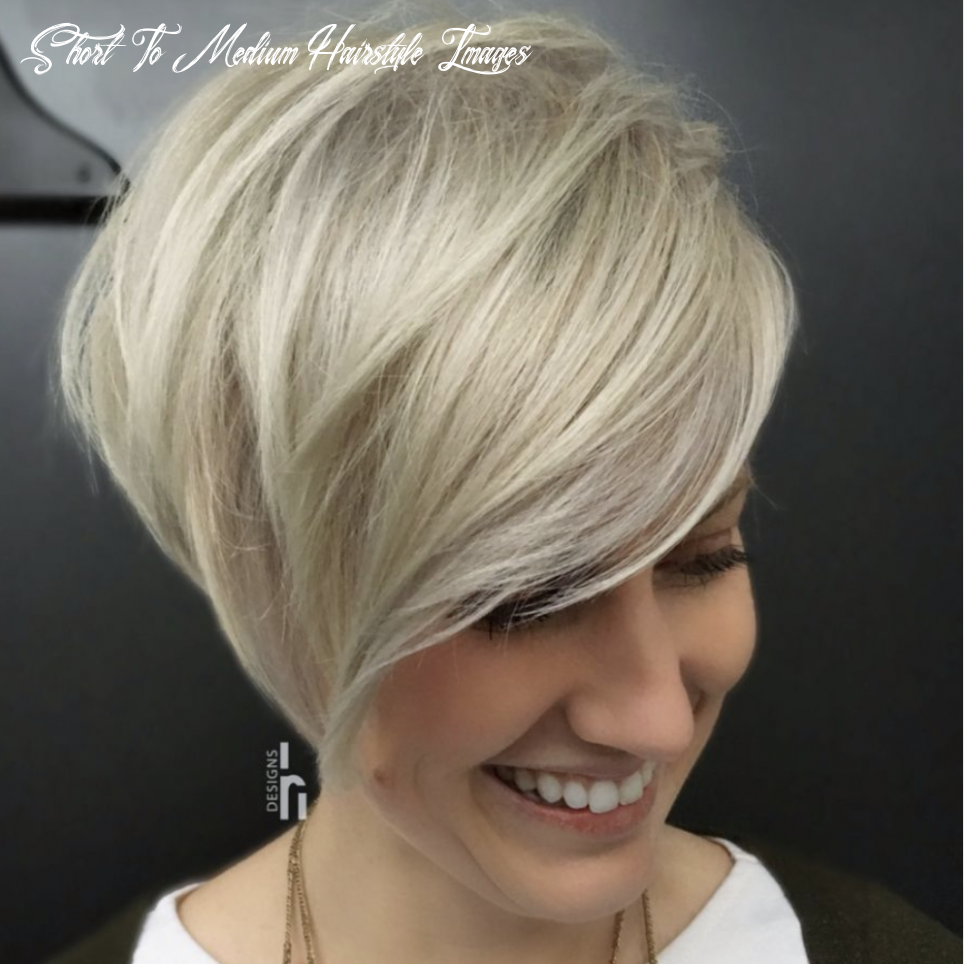 Medium short hairstyles 10 female quick and easy to style