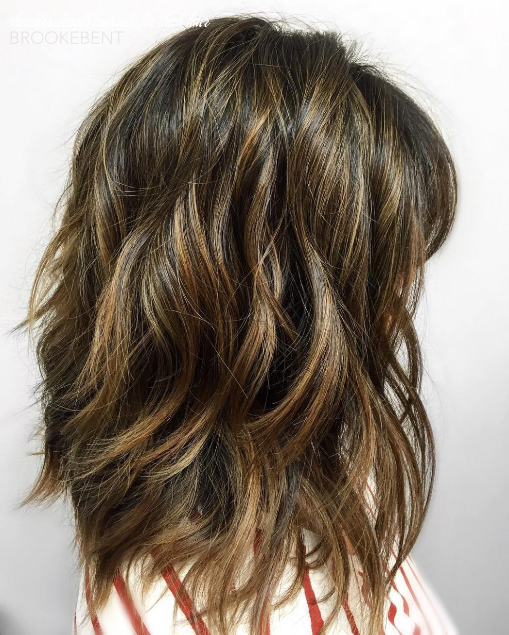 Medium short length hairstyles for thick hair shoulder length haircuts for thick hair
