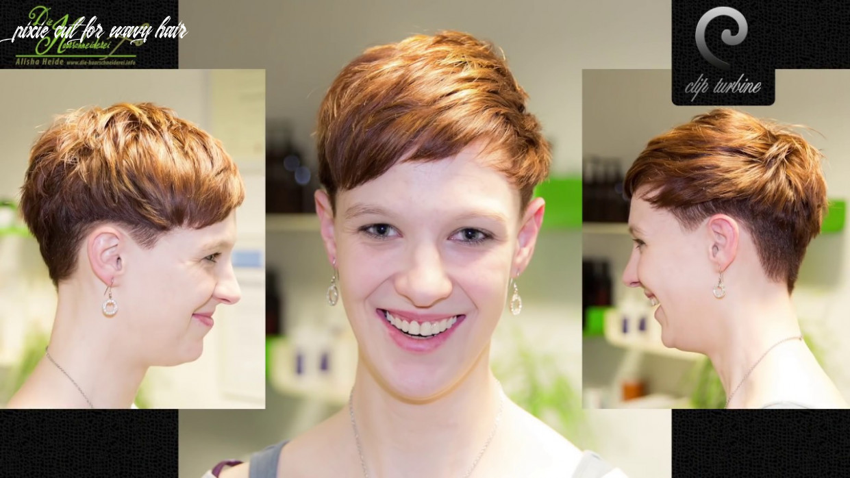 Medium wavy hair to short pixie haircut | extreme makeover by jacky @ die haarschneiderei pixie cut for wavy hair