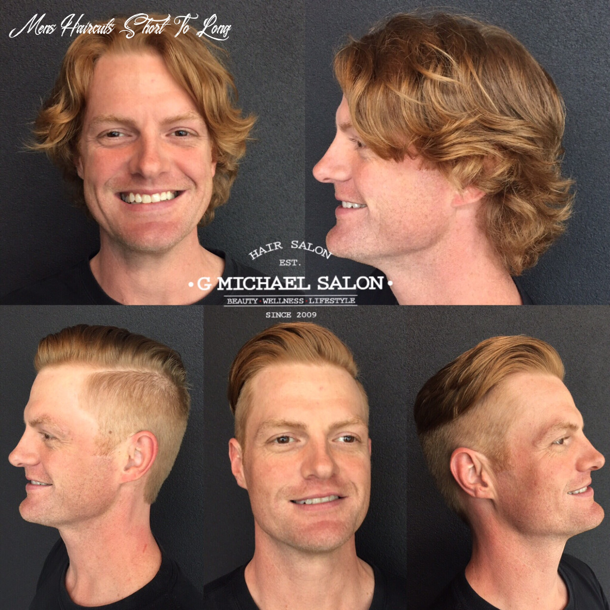 Men's Long Hair to Short Hair Transformations by Indy's Top Salon ...