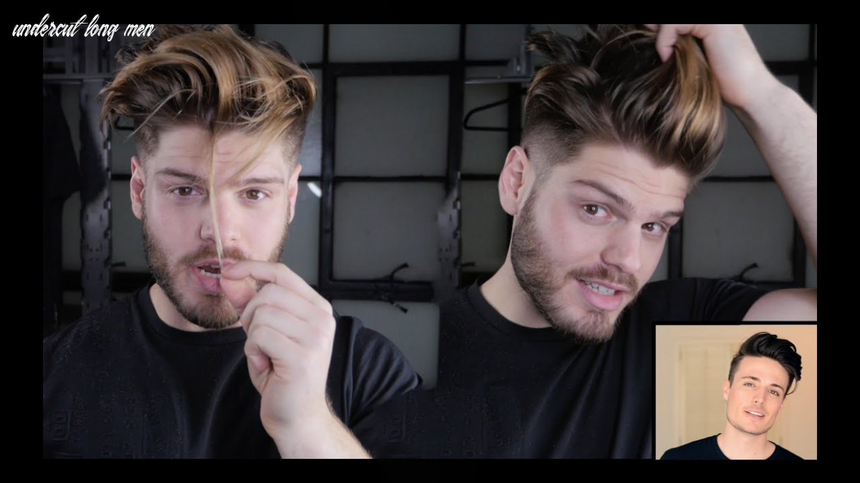 Mens hair transformation | long hair to faded undercut ft