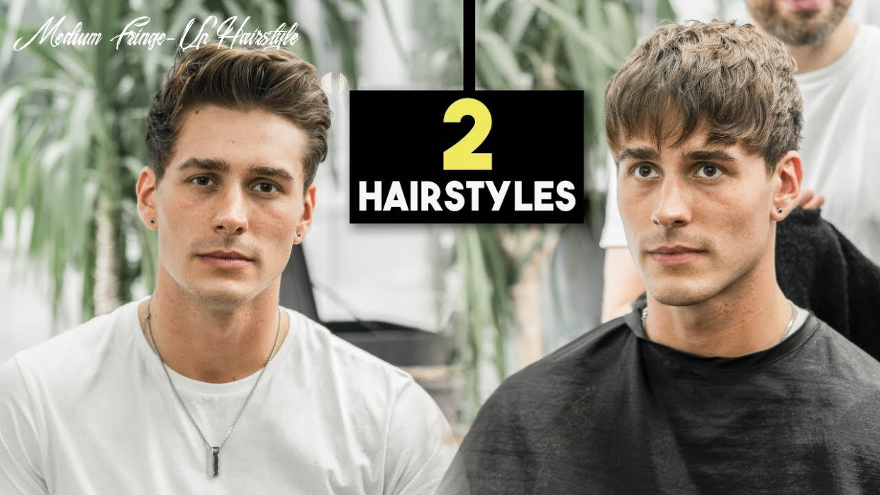 Mens haircut 11 fall hairstyles | textured fringe & messy quiff | blumaan 11018 medium fringe up hairstyle