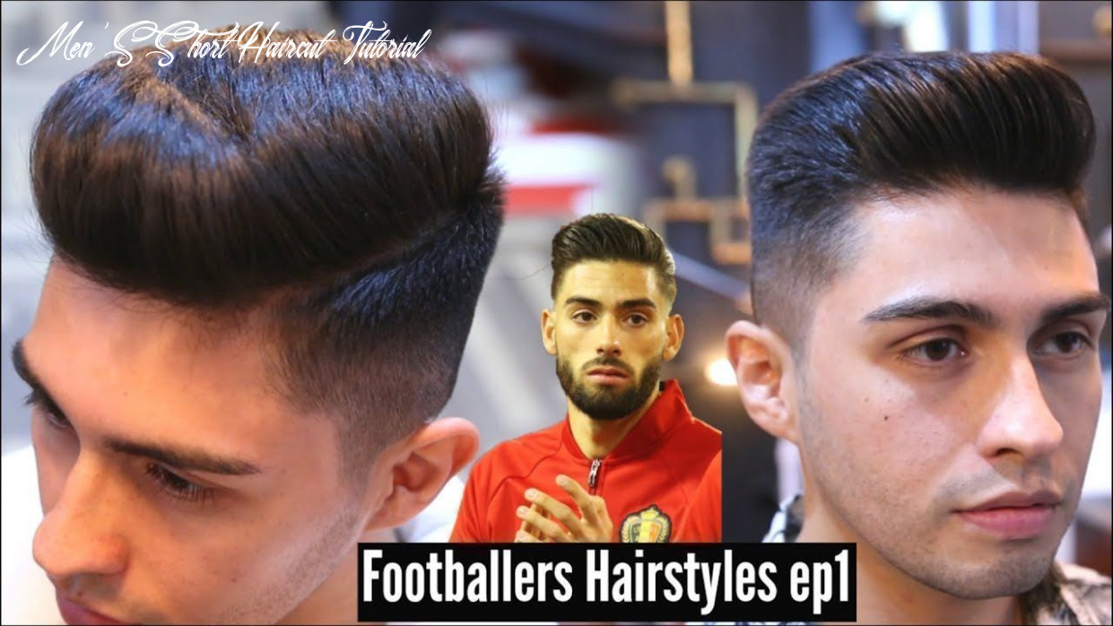 Mens hairstyle 9   popular short hairstyle for men   pompadour