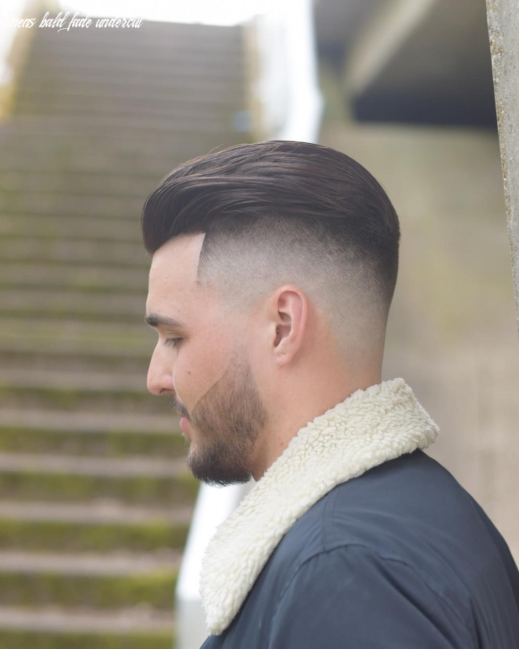 Mens hairstyles 8 onelovebarber slick back skin fade undercut