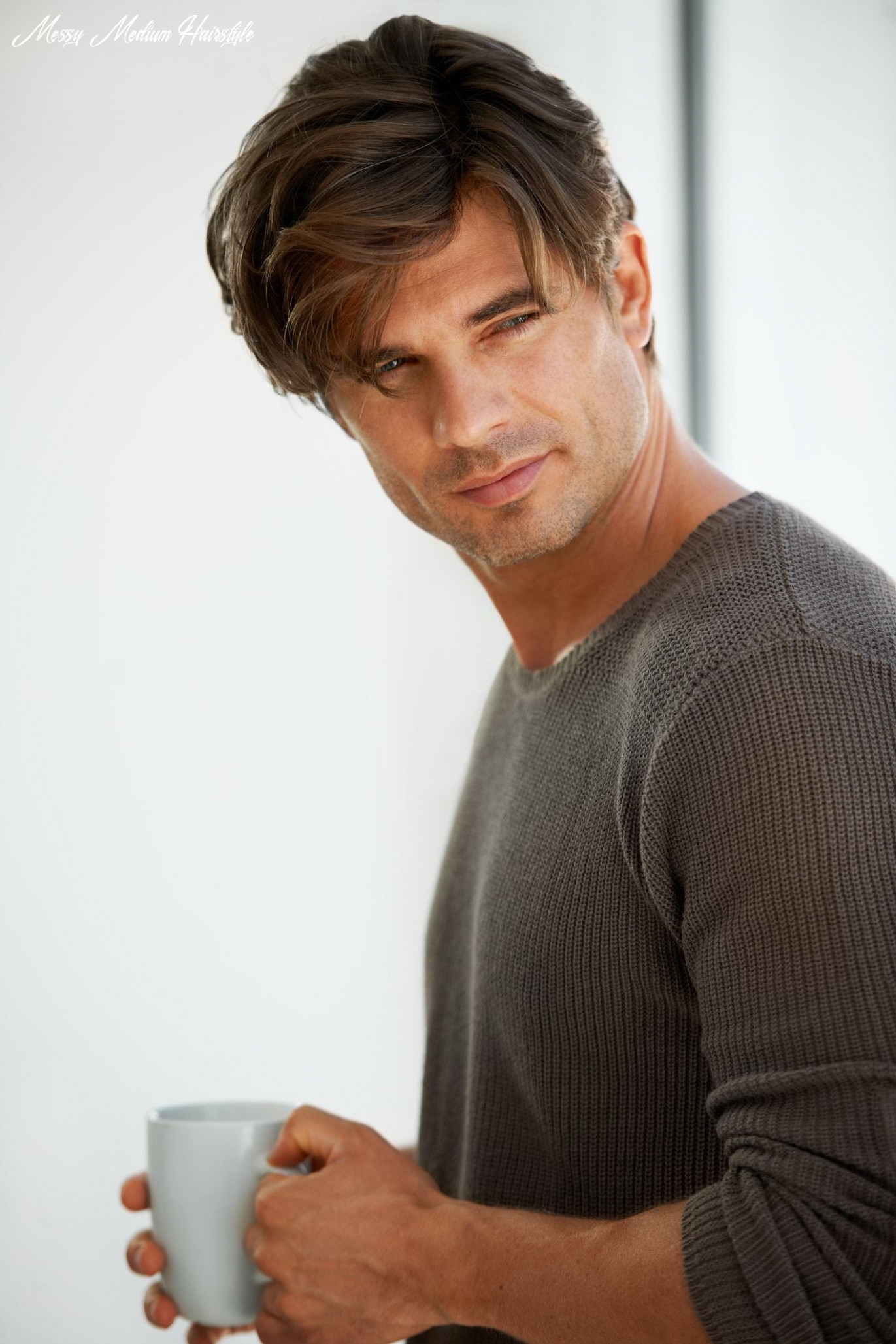 Messy hairstyles for men in 12 | all things hair us messy medium hairstyle