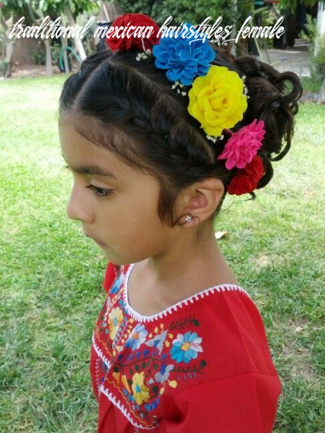 Mexican wedding flower girl hairstyle … | mexican hairstyles
