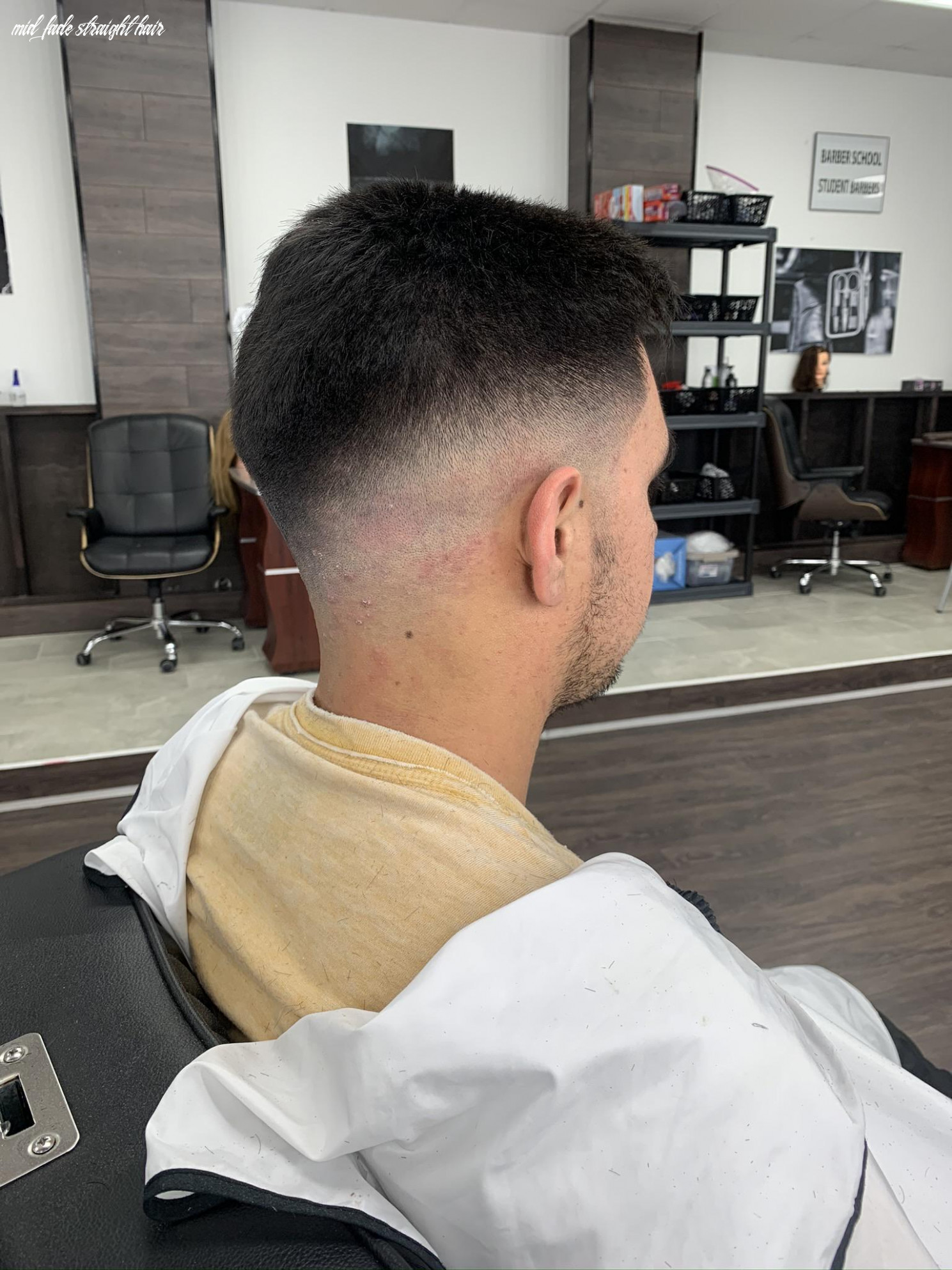 Mid/high fade thoughts? straight hair client, been cutting for a
