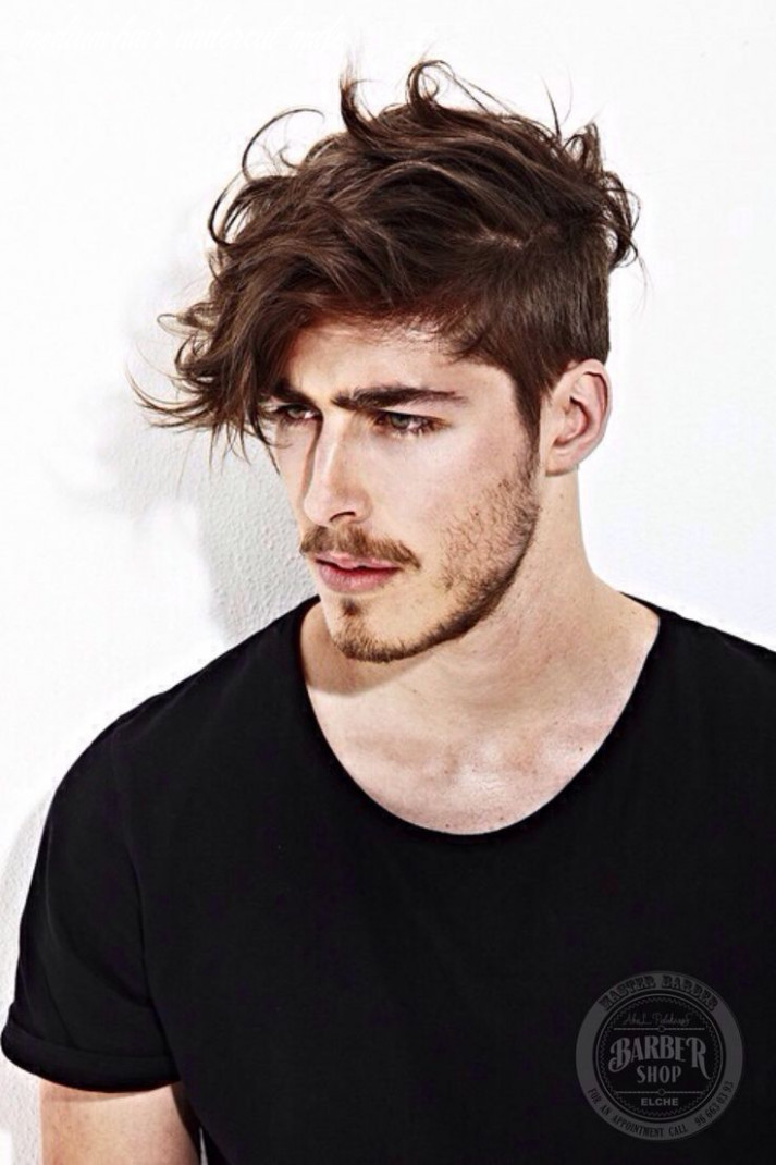 Mid length | mens hairstyles, top hairstyles for men, medium hair