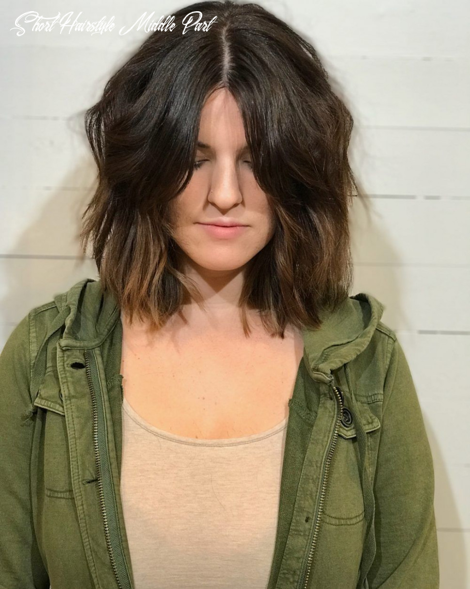 Middle part hairstyles: 9 flattering ways to pull one off