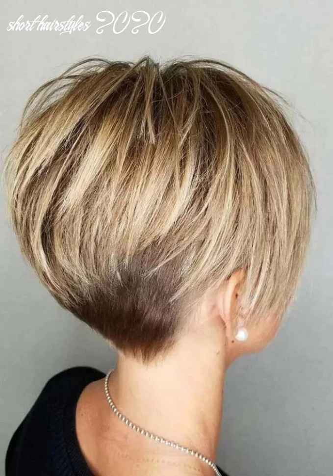 Mind blowing short hairstyles for fine hair in 11 | ideal blush short hairstyles 2020