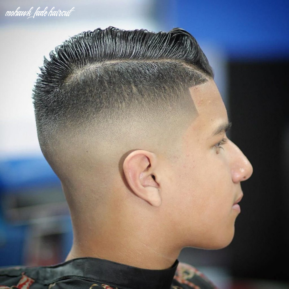 Mohawk Fade Hairstyle - Hairstyles and Haircuts