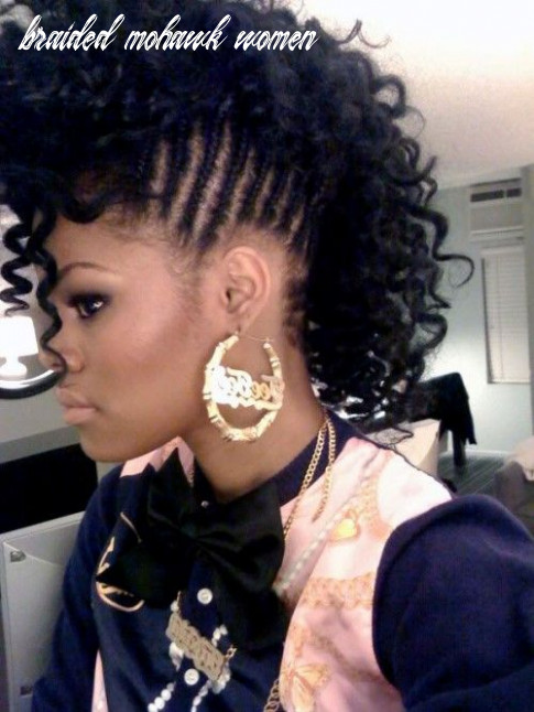 Mohawk hairstyles for black women | braided mohawk hairstyles