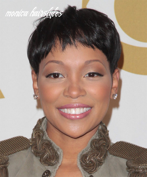 Monica hairstyles, hair cuts and colors monica hairstyles