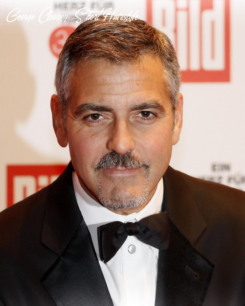More pics of george clooney short side part (12 of 12) short