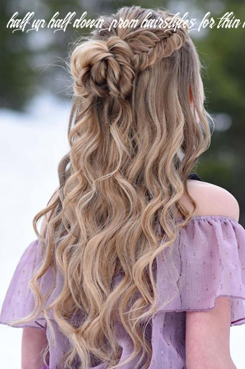 Most Demanded Half Up Half Down Long Wavy Prom Hairstyles To ...