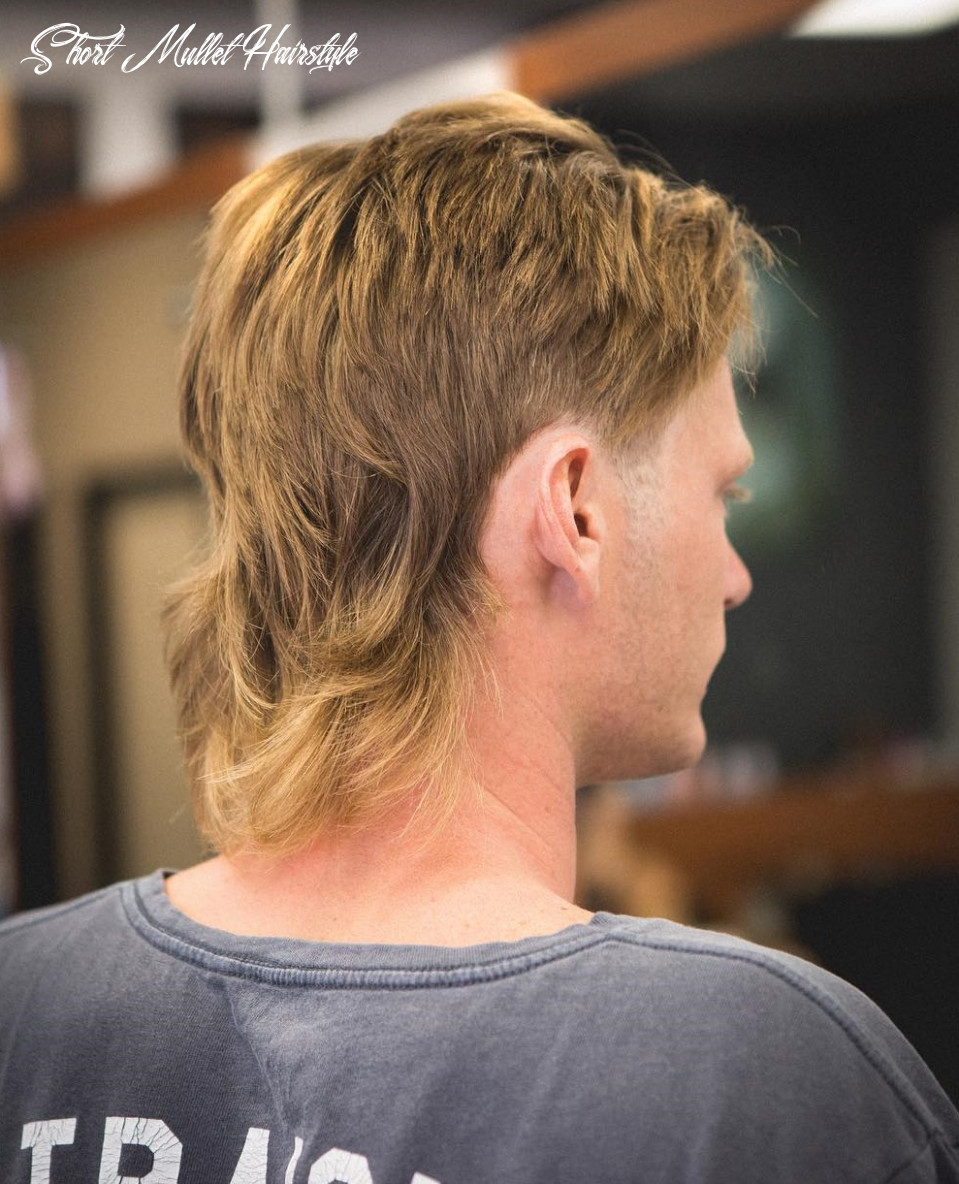 Mullet haircuts: party in the back, business in the front short mullet hairstyle