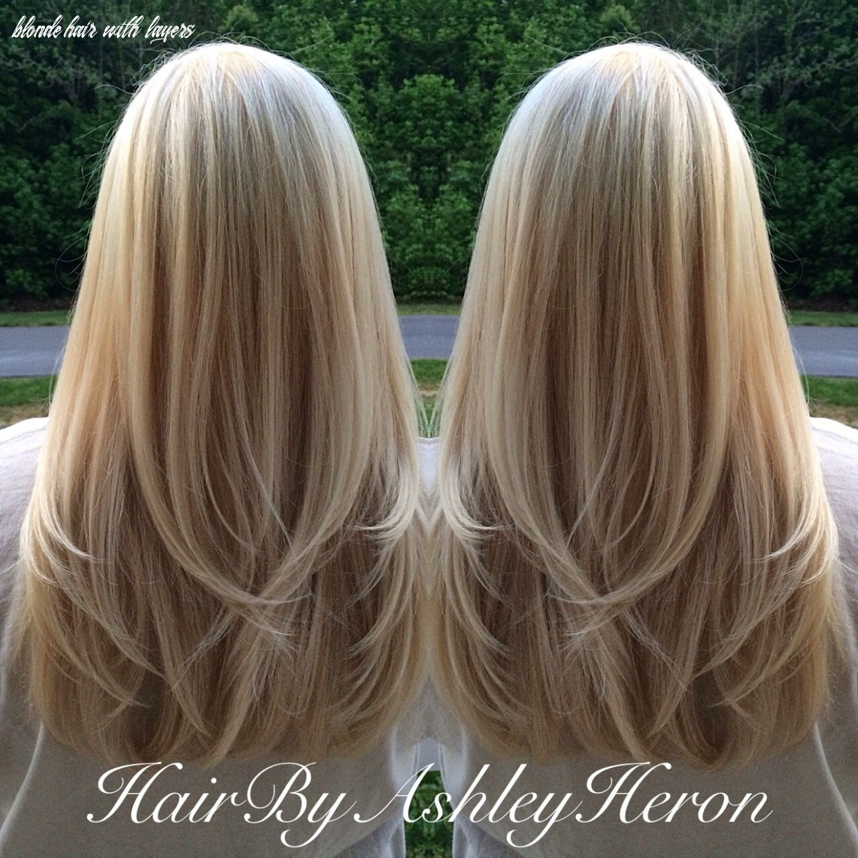 Multidimensional blonde with long layers @missmr12 | hair