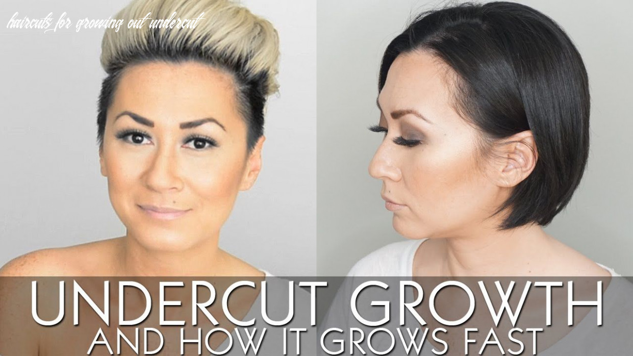 My undercut growth and how it grows fast | growing out undercut
