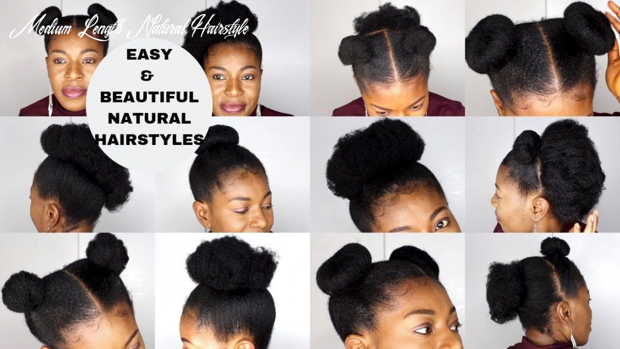 Natural hairstyle medium length for wedding very easy natural