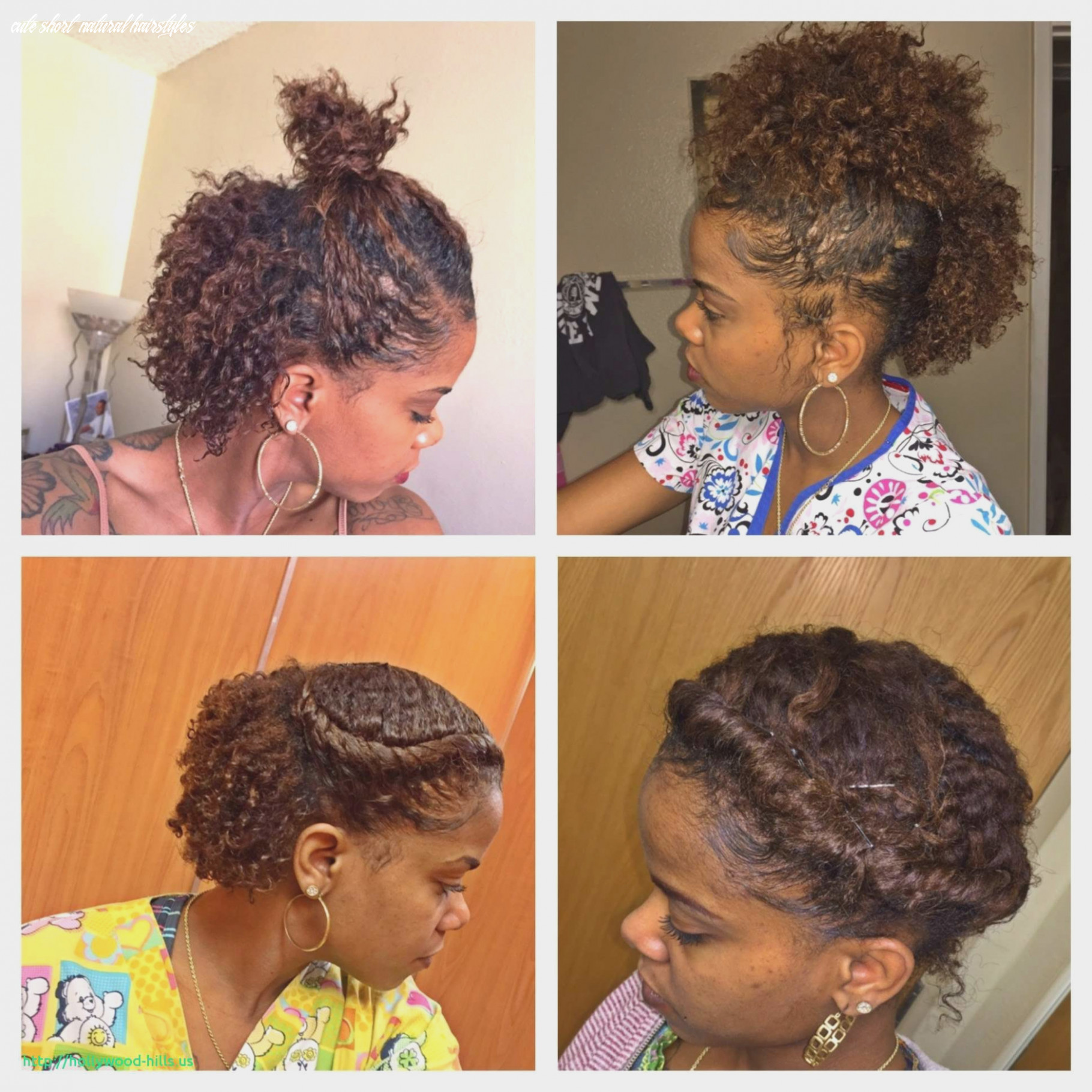 Natural hairstyles braids awesome very short natural hairstyles