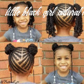 Natural hairstyles for black girls (with images) | lil girl