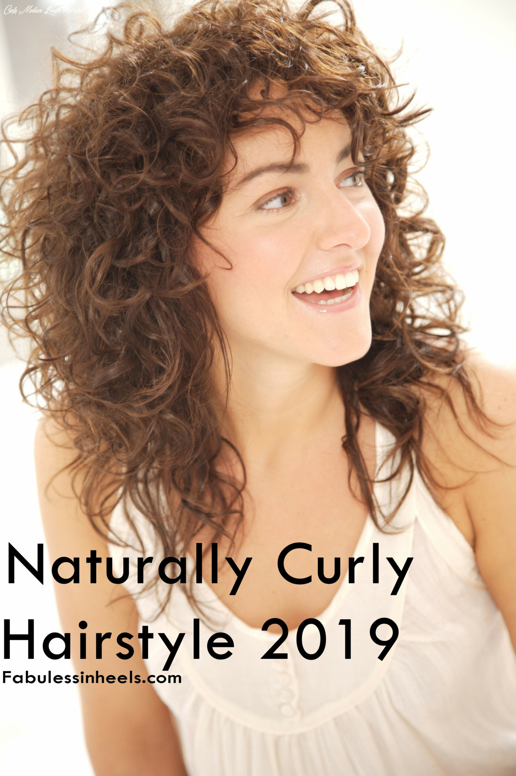 Naturally curly hair 8 for womens with medium length #hairstyle