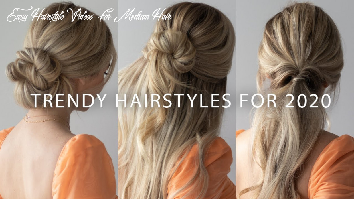 New easy hairstyles for 10🌟🔥 easy hairstyle videos for medium hair