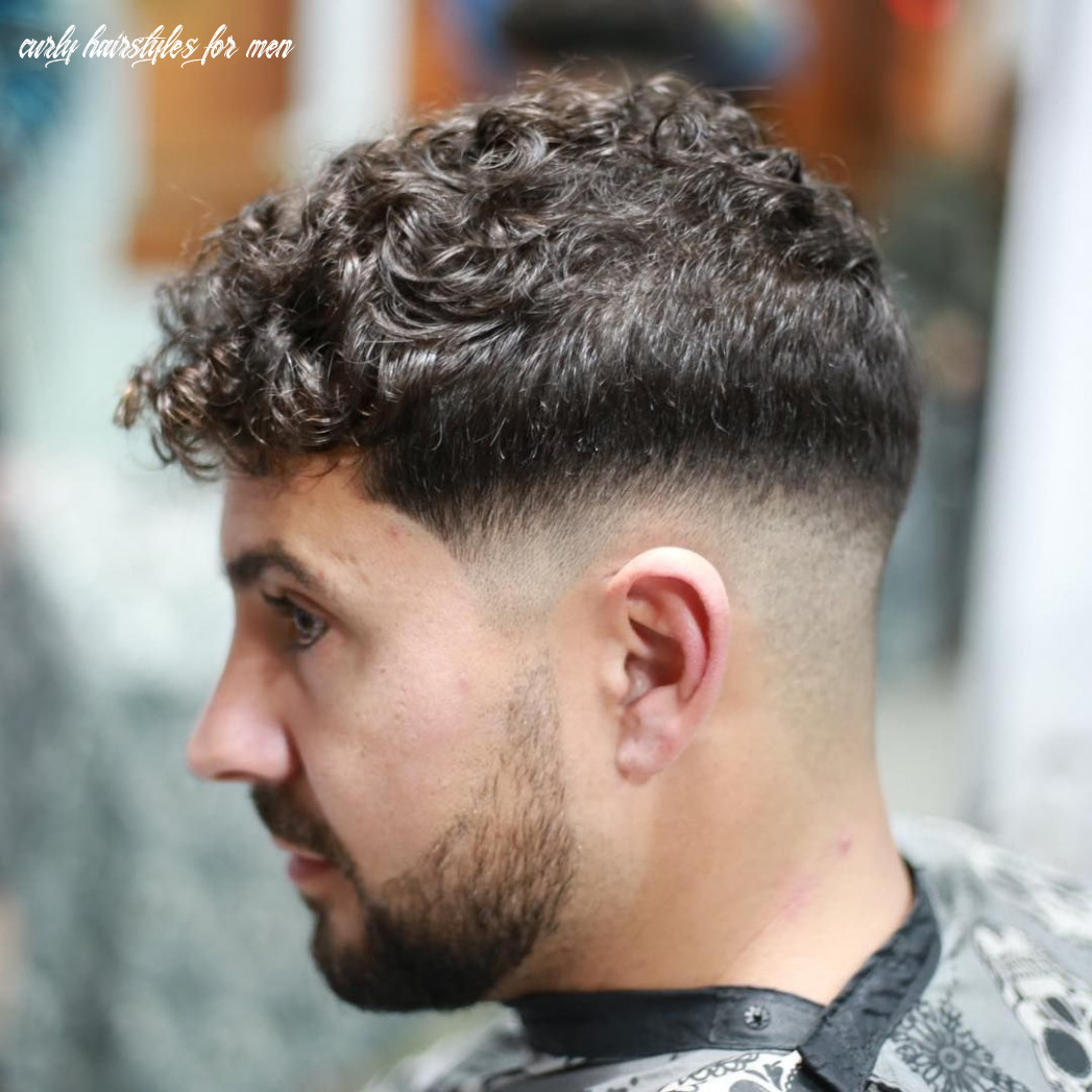 New hairstyles for curly hair 9 | curly hair men, mens short