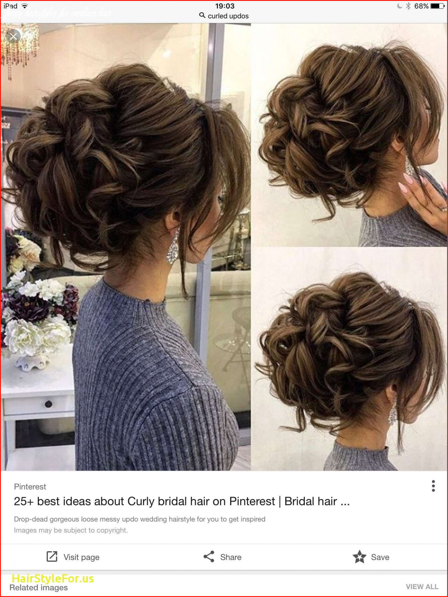 New Loose Updo Hairstyles for Medium Length Hair Photos Of Updos ...