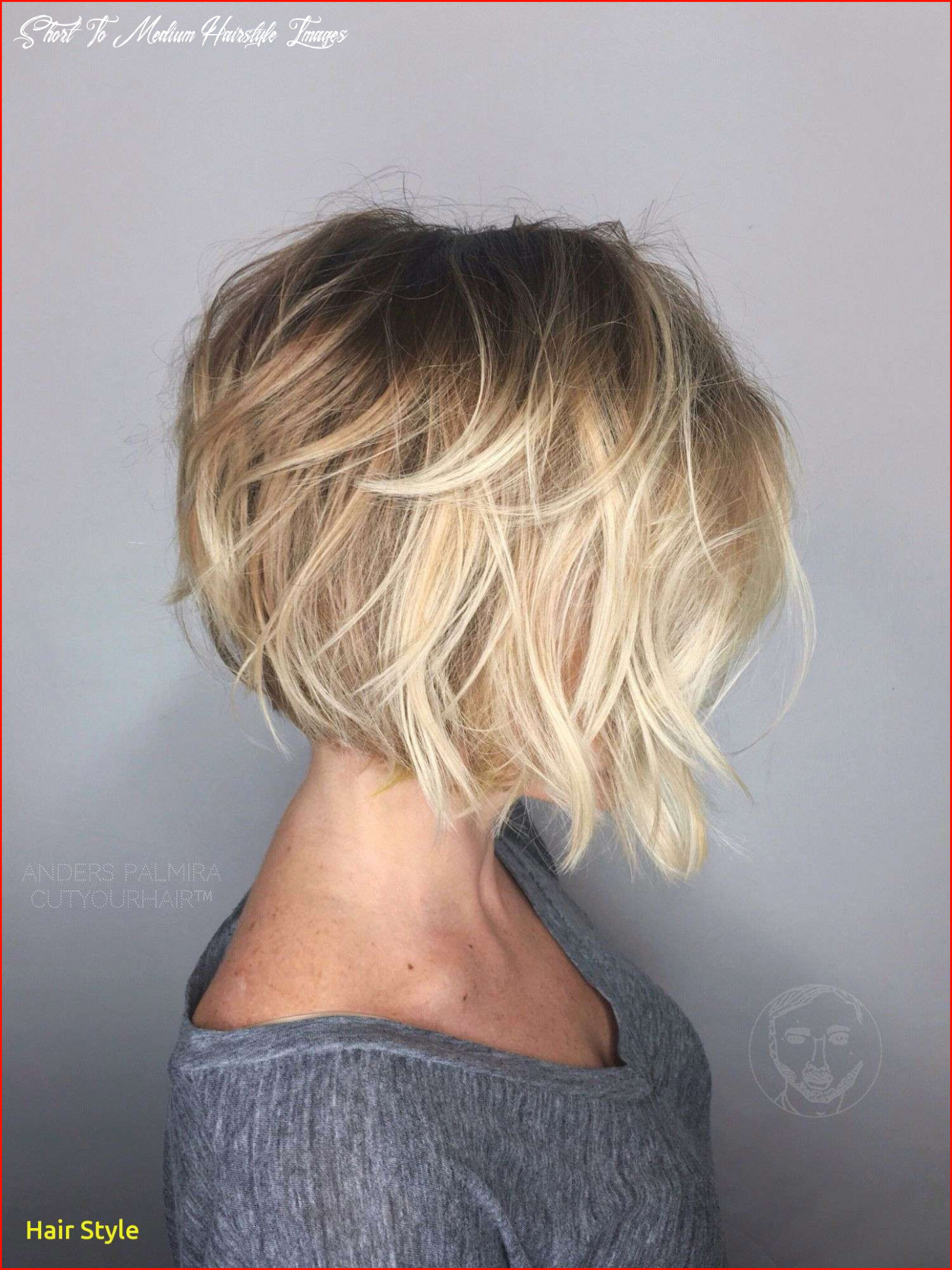New Medium Short Hairstyles Collection Of Medium Hairstyles Trends ...