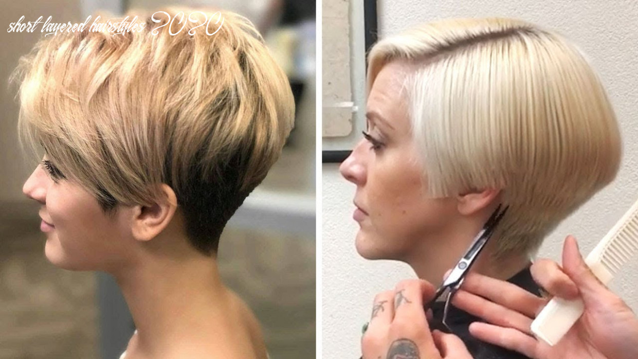 New trendy pixie hairstyles 8 | top 8 short bob & short layer haircut | women hair ideas grwm short layered hairstyles 2020
