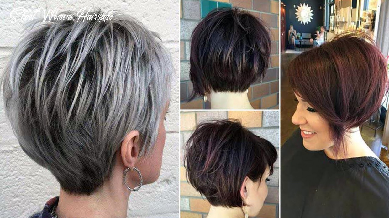 Newest short haircuts for women   short womens hairstyles and haircuts & haircut short video short womens hairstyle