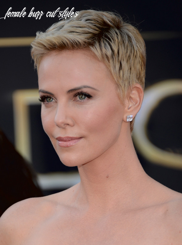 News: charlize theron discusses her buzz cut; hairstyles for humid