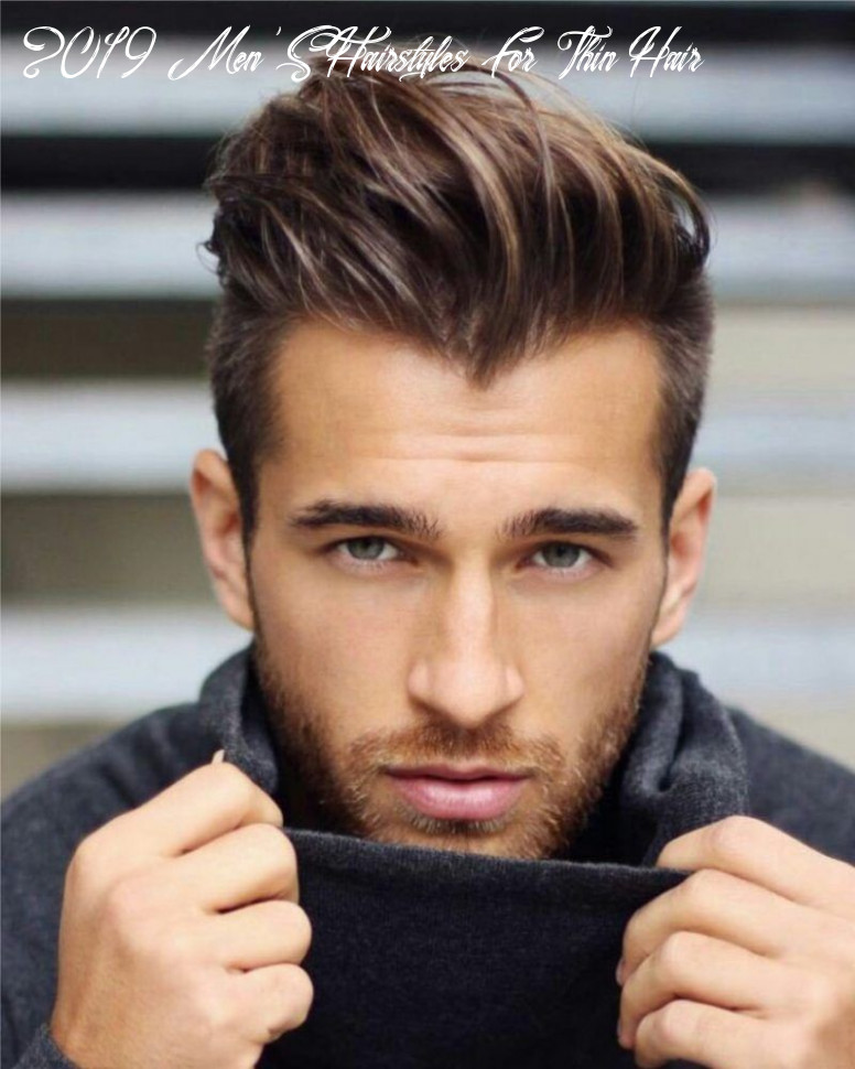 Nonchalant achterover | mens hairstyles thin hair, hairstyles for