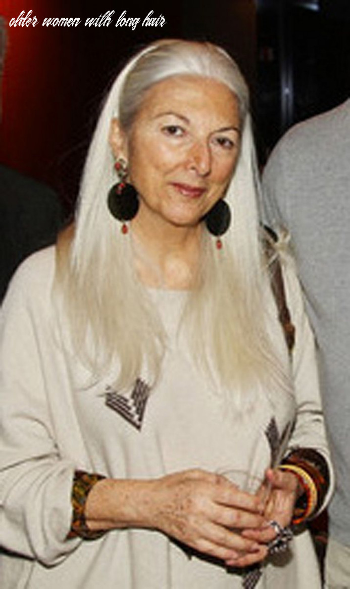 Older women and long hair—in the olden days | grey hair