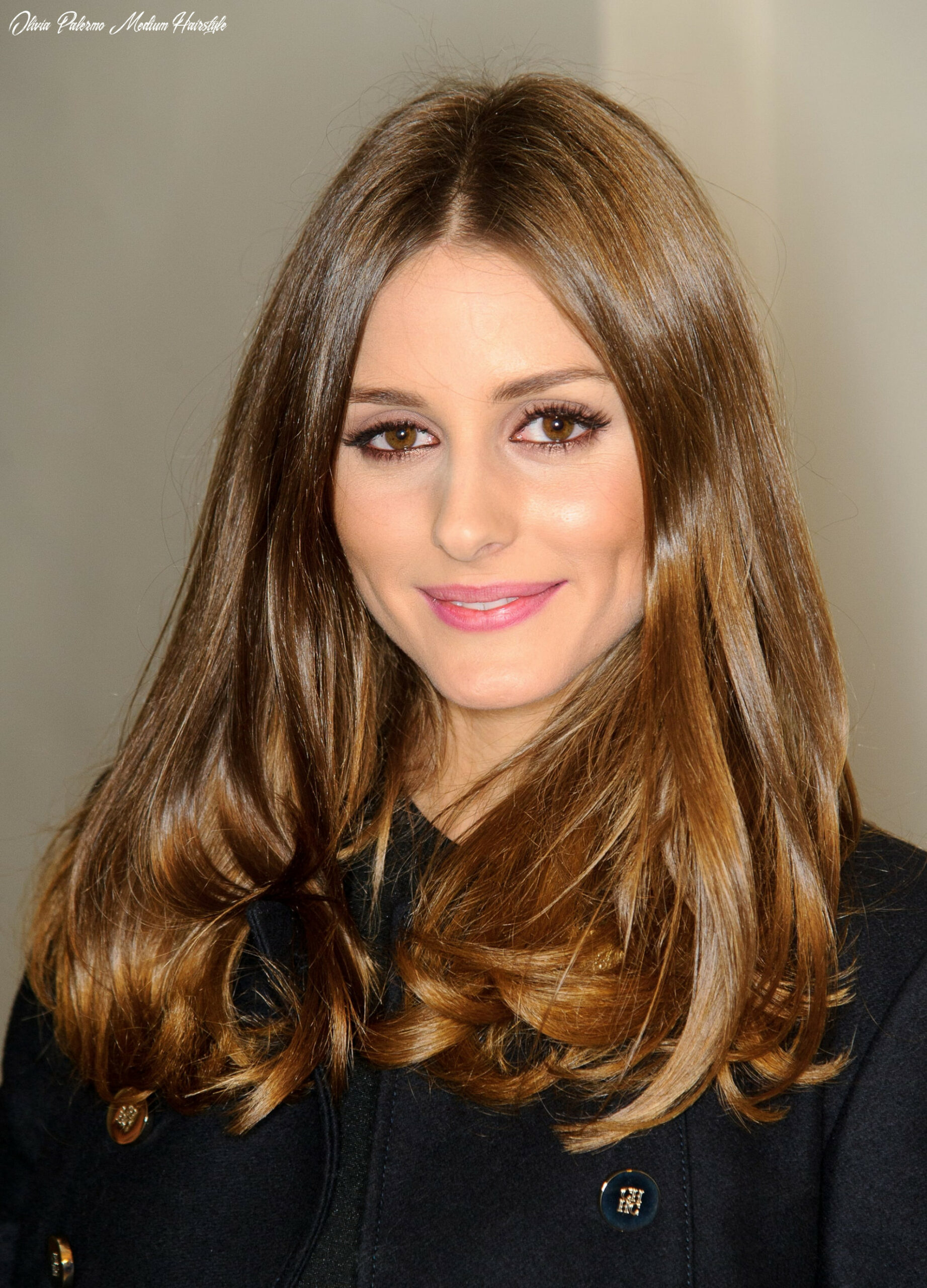 Olivia Palermo sticks with what works, and this hairstyle was ...