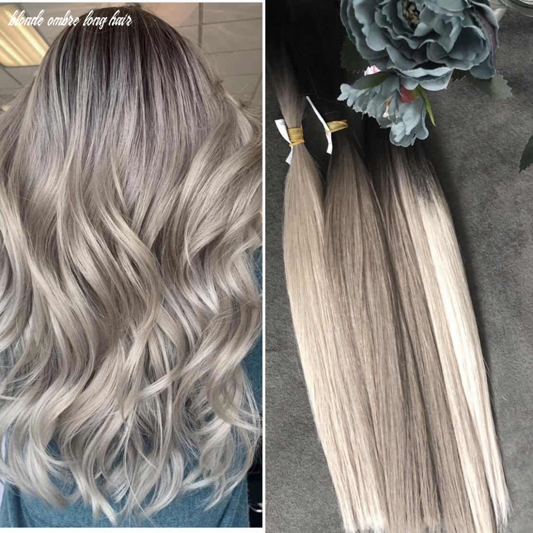 OMBRE BALAYAGE HAIRSTYLE IDEAS FOR LONG HAIR IN 12