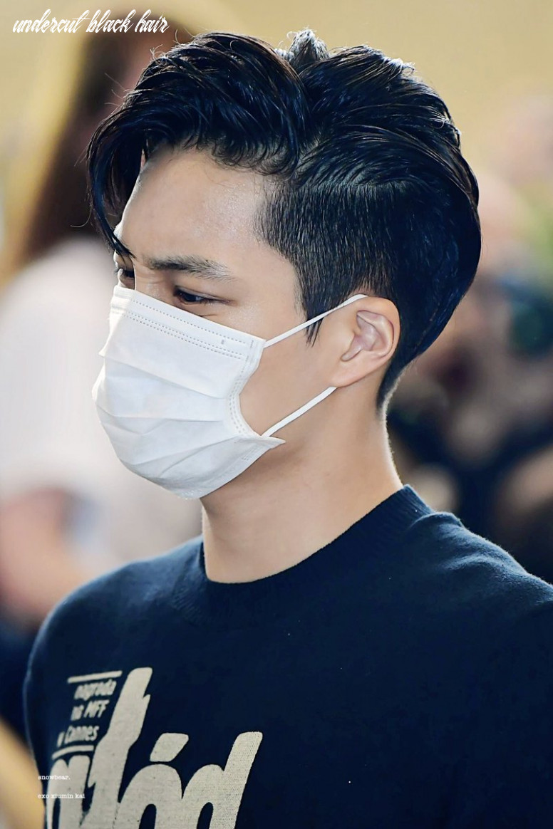 """⁸⁸ on Twitter: """"black haired Jongin with an undercut is the most ..."""