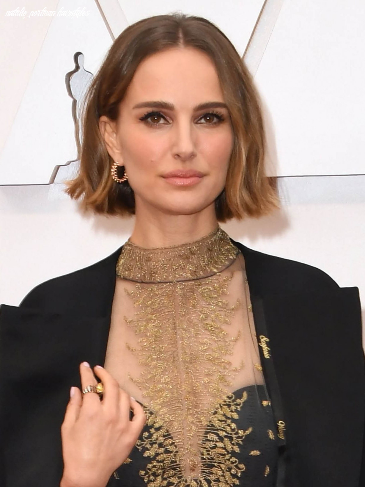 Oscars 10: natalie portman debuted a new bob trend on the red
