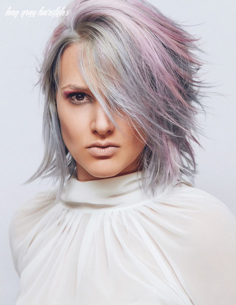 Our Top 10 Gray Hairstyles For Women – Place 10 | Friseur.com