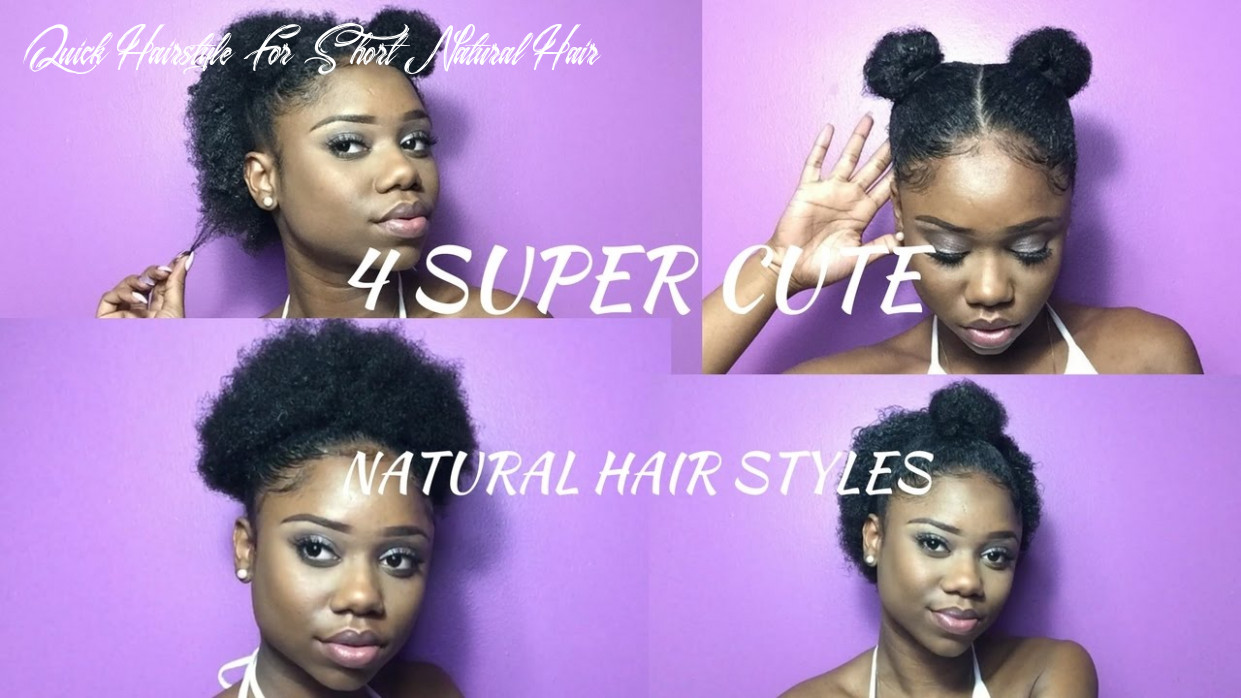 Over 8 hairstyle ideas for short natural transition hair jjbraids quick hairstyle for short natural hair