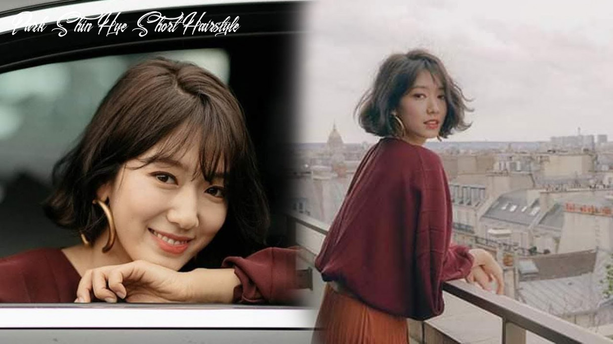 Park shin hye looking gorgeous with her short hair at paris