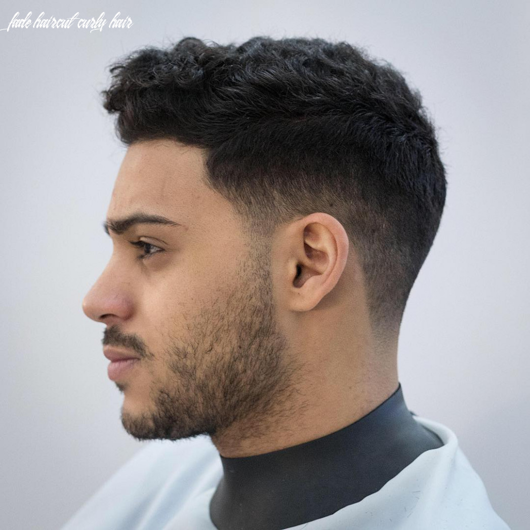 Picture Of a low fade haircut is a stylish idea to rock naturlaly ...
