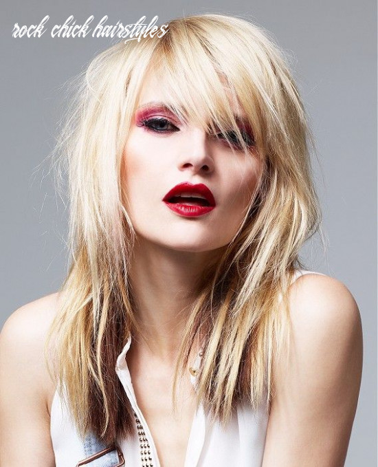 Pin auf beau t rock chick hairstyles