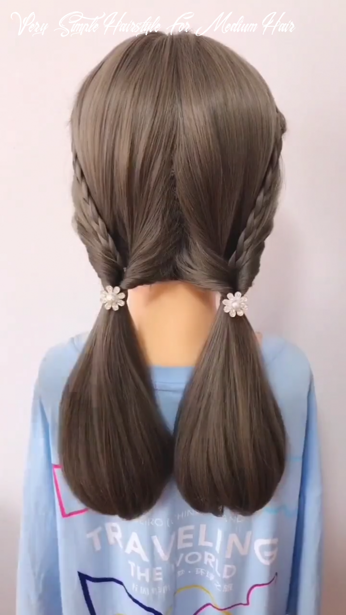 Pin auf easy hairstyles very simple hairstyle for medium hair