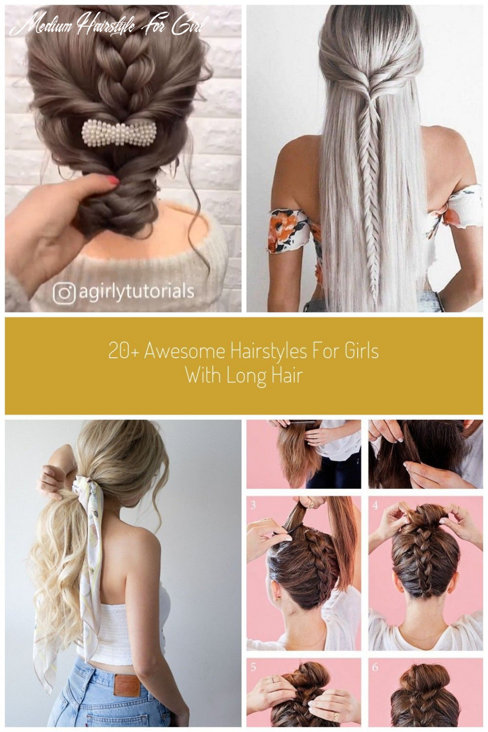 Pin auf easy medium hairstyle for girl