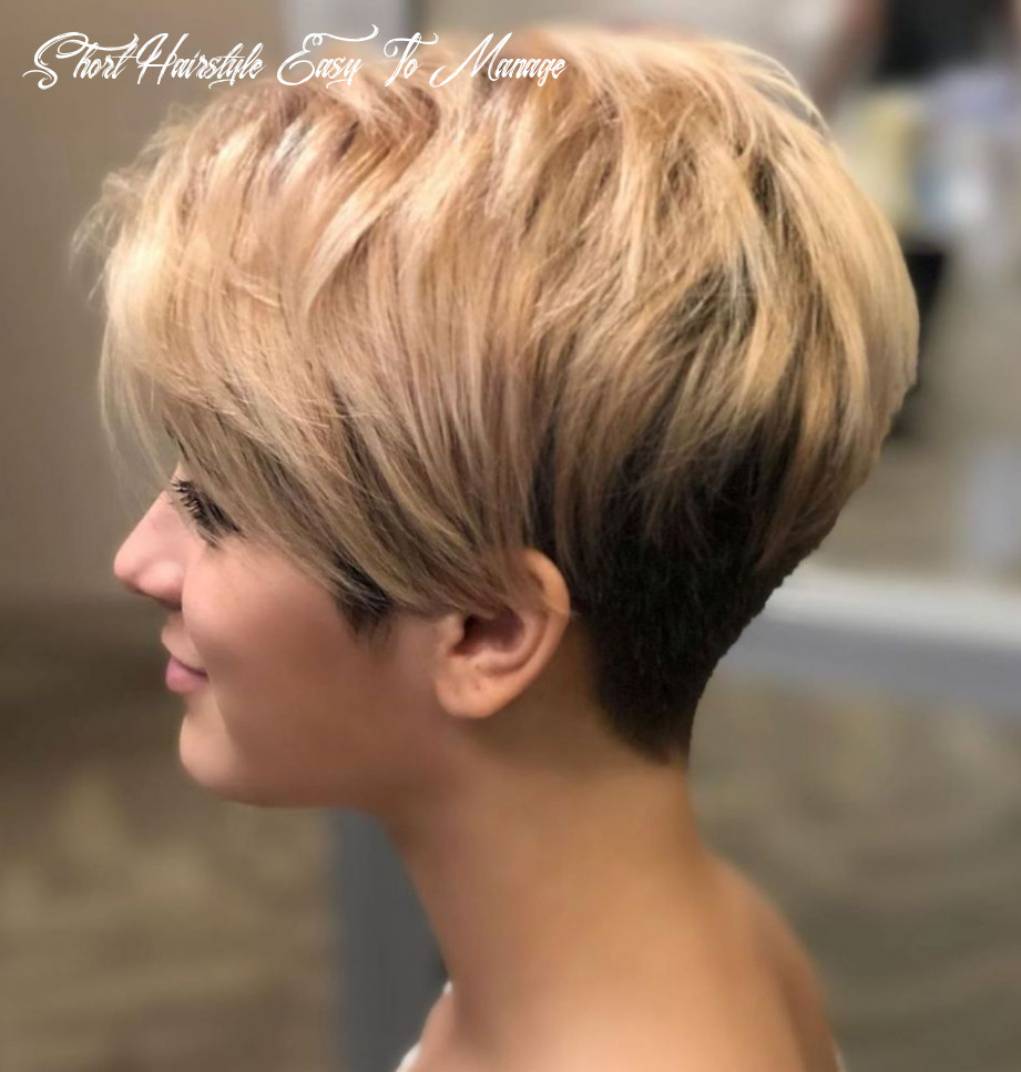 Pin auf short hair style short hairstyle easy to manage