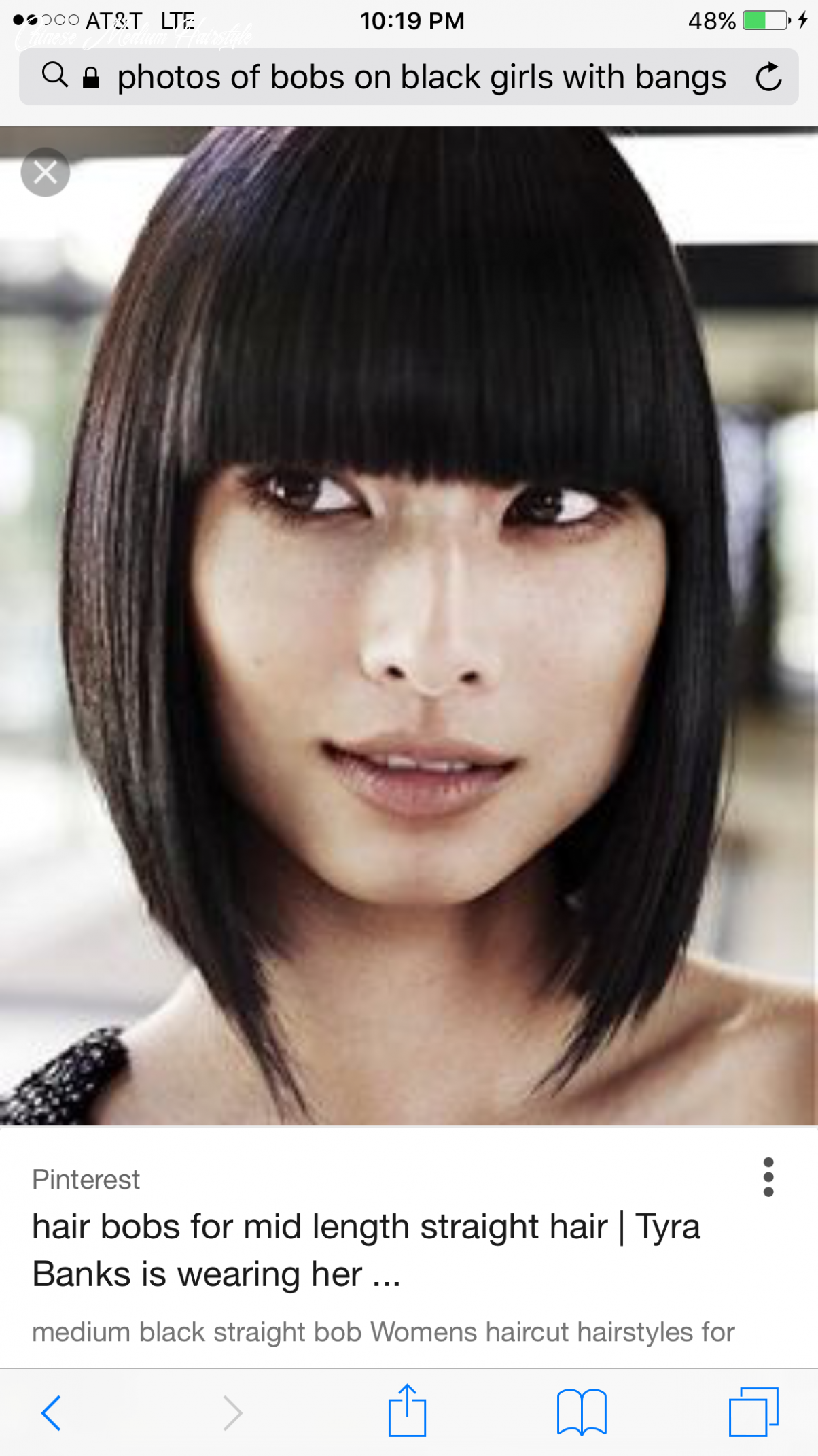 Pin by Ashley Sumpter on I want this ☺️ | Chinese bob hairstyles ...
