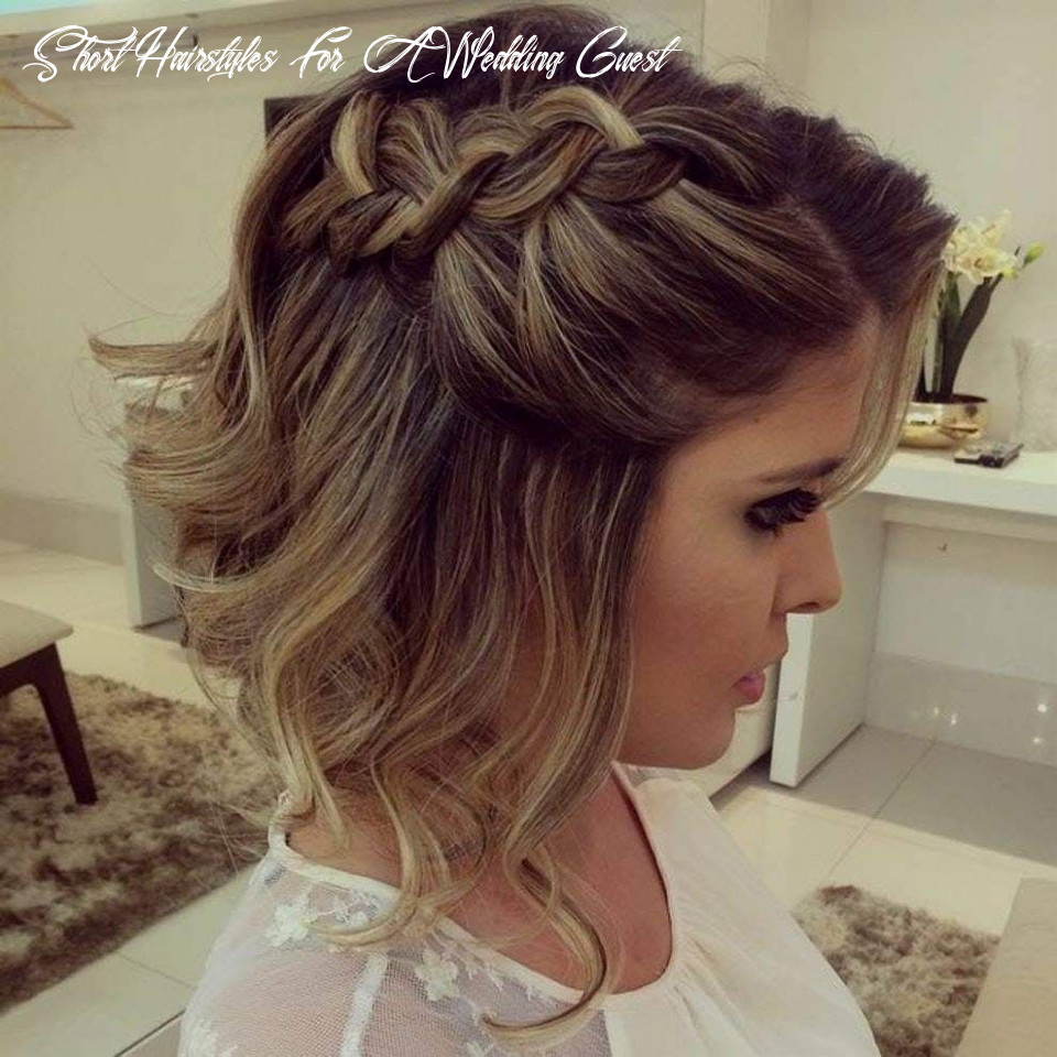Pin by audrey mills on make up | short wedding hair, guest hair
